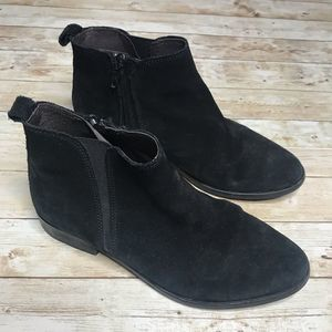 Andre Assous Justyna Chelsea Suede Leather Booties